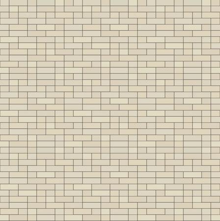 flagstone: Simple seamless texture - brick, stone wall. Vector illustration.