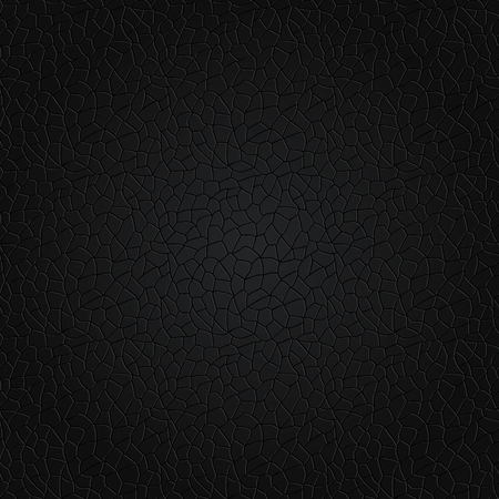 Seamless texture - random network of fractures. Irregular cracks. Vector illustration.