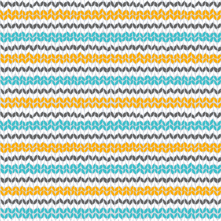 strip structure: Knitted colorful seamless texture. A vector. Illustration