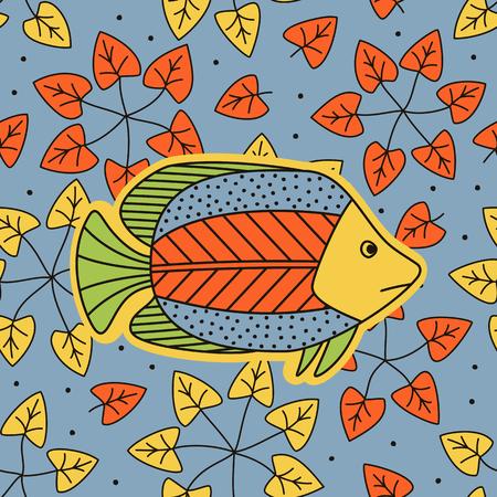 Hand drawing - fish