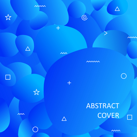 Abstract cover for your design - banners, posters, placards, brochures, flyers etc. Eps10 vector.