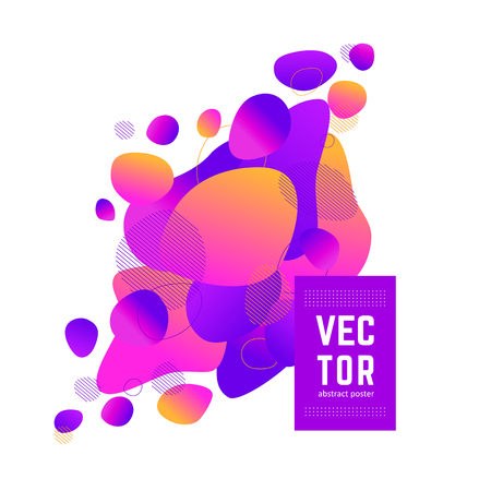 Bright cover for your design - banners, posters, placards, brochures, flyers etc. Eps10 vector.