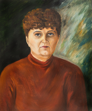 Portrait of a middle-aged woman