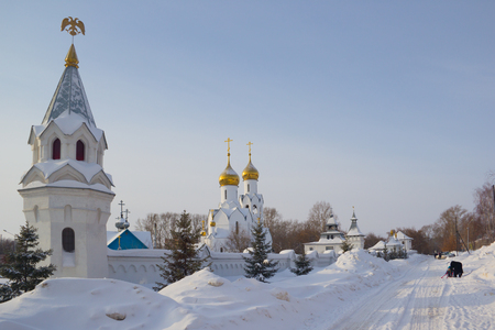 Archistrategos Mikhail church in Novosibirsk. Russia