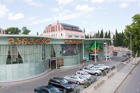 Tbilisi, Georgia - August 8, 2013: Casino building in the city center