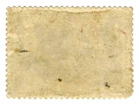 Old paper  Postage stamp photo