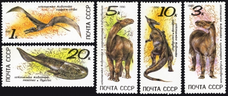 Zoolith, postage stamp USSR Stock Photo - 13733807