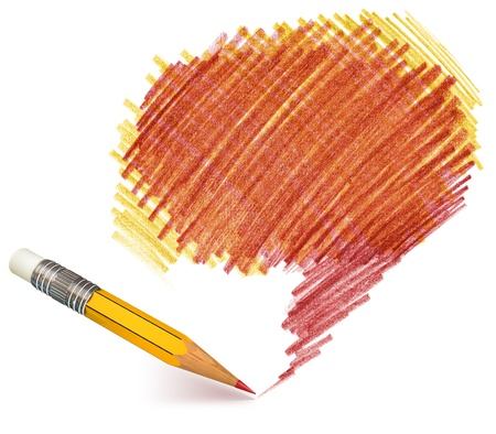 Pencil shading, Hand-drawn, Doodle Stock Photo - 16741445