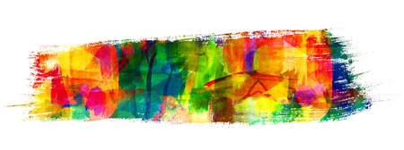Abstract oil painting, Brush stroke, Freehand drawing Stock Photo - 16898700
