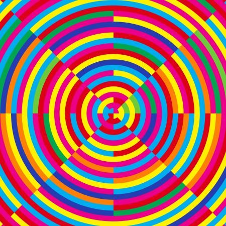 envision: Moire effect,  illustration