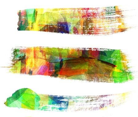 brush stroke: Abstract guasch painting, Brush stroke, Blot