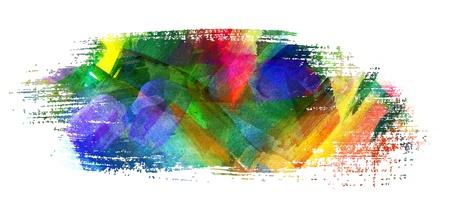 brush stroke: Abstract oil painting, Brush stroke, Smeared spot, Blot