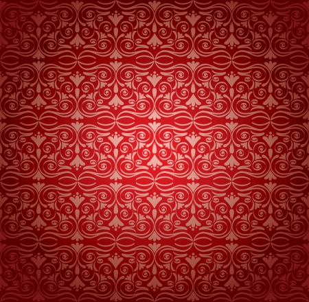 Retro wallpaper, vector illustration Stock Vector - 17041432