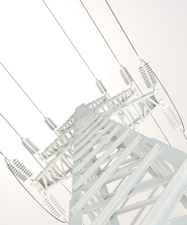 Power Transmission Line Stock Photo - 17041294
