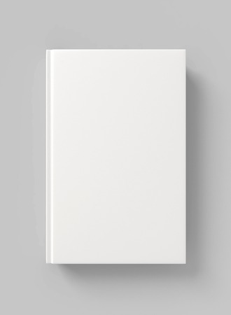 hardcover: Blank book hardcover Stock Photo