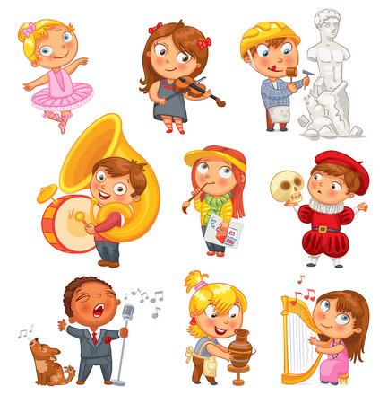 niños bailando: Aficiones e intereses.