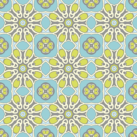 variegated: seamless vintage pattern. Illustration
