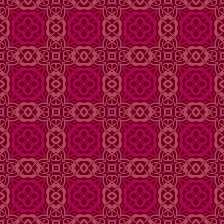 ligature: seamless vintage pattern. Illustration