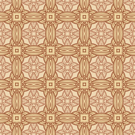 ligature: seamless vintage pattern.  Illustration