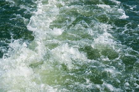 seething: Seething water Stock Photo