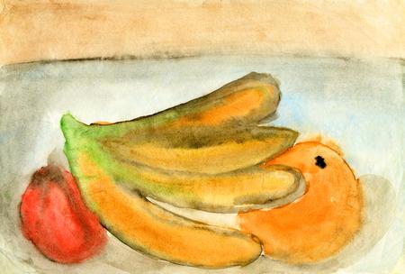still life: Childrens drawings Still life