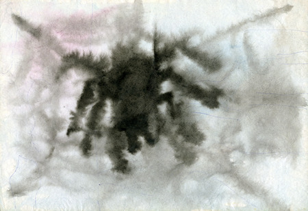 children's: Childrens drawings Spider