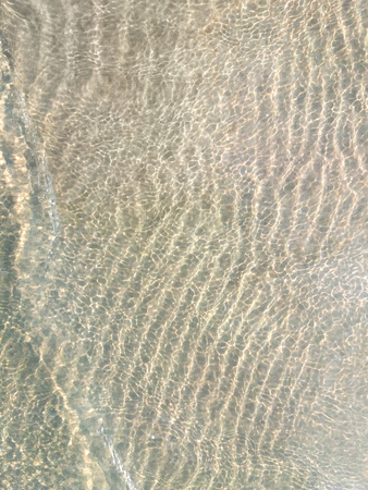 Ripple on the water. Background. Underwater photo of beautiful sand Banco de Imagens