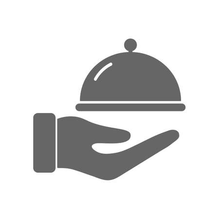 Restaurant black icon