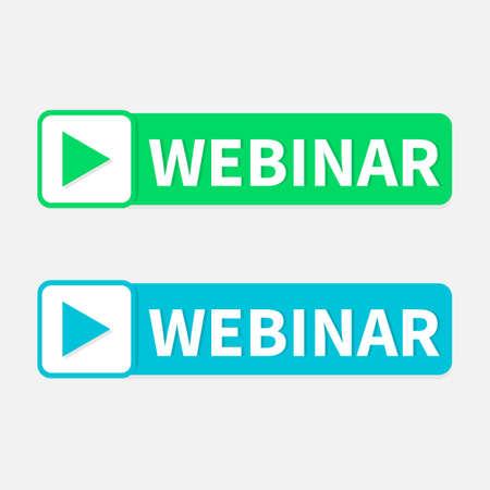 webinar e-learning simple black icon