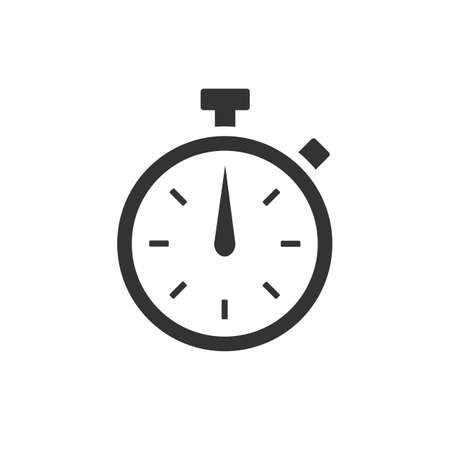 Chronometer icon isolated