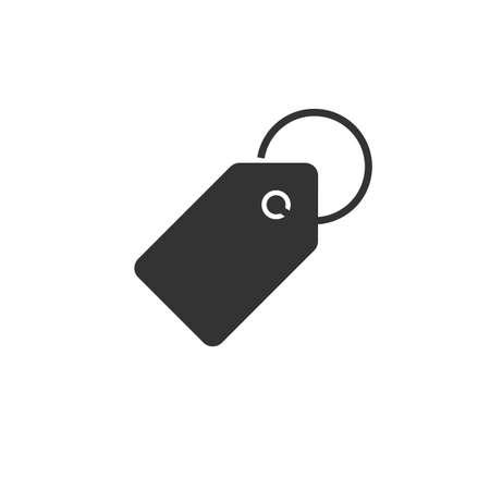 Price Tag Label Icon. Sale tag vector Illusztráció