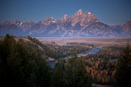 Grand Tetons Snake River Overlook