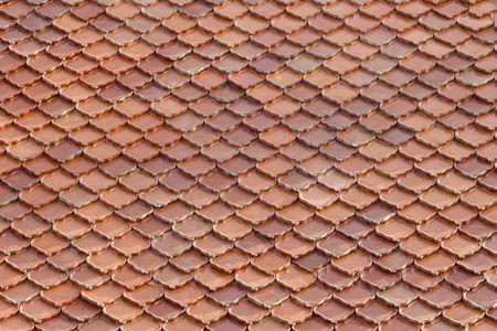thai style ceramic roof photo