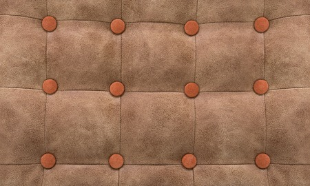 imitation leather: Pattern a patchwork in style Chesterfield, an imitation leather
