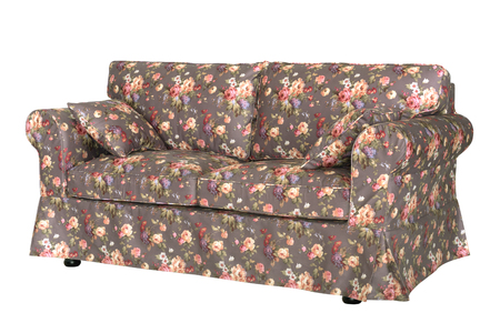 Sofa in style with beautiful floral prints