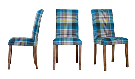 Dining room chair, three options of turn