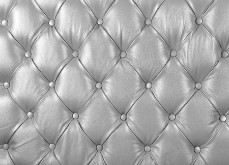 Decor Chesterfield from a white leather