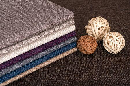 Sewing fabric kit, coarse weave fabric