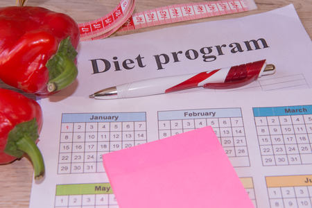 The idea of healthy diet, dietary breakfast. Losing weight with the help of a fruit diet. Low-fat diet. Healthy lifestyle diet