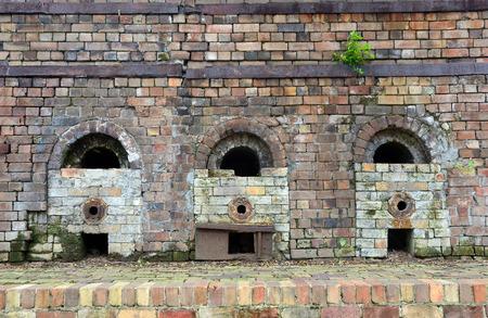 Historic brick kilns of the old Bedford Brick Works, Sydney Park, St Peters, Australia