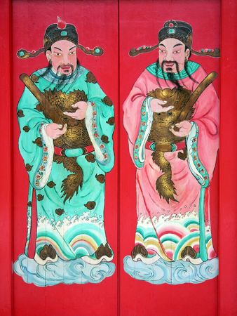 clan: Chinese Clan House Doors