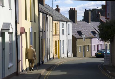A street in Beaumaris, Anglesey