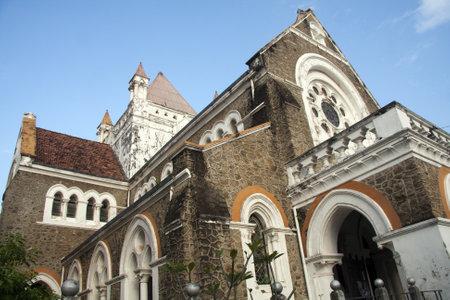 galle: All Saints Church, Fort District, Galle, Sri Lanka