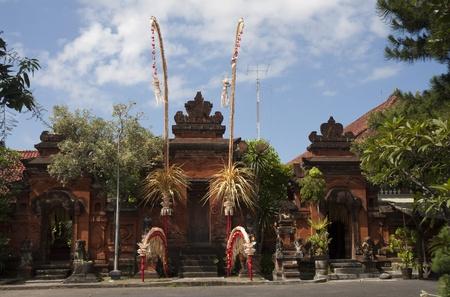 faiths: Balinese Temple, Denpasar, Bali Stock Photo