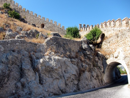 Alanya Castle Walls, Turkey