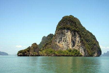 Koh Phanak, Phang Nga Bay, Thailand Stock Photo - 12284106