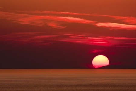 royalty free photo: Sunset, Alanya, Turkey