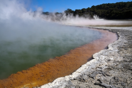 The Champagne Pool, Wai o Tapu, Rotorua, New Zealand photo