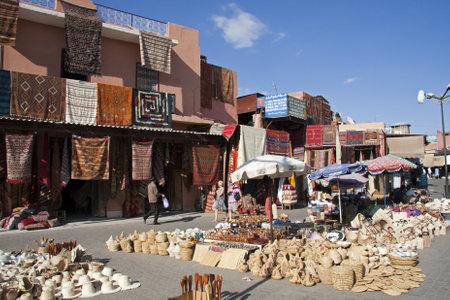 souk: Market Square, Marrakech, Morocco