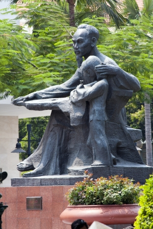 Statue of Ho Chi Minh, Ho Chi Minh City  Saigon , Vietnam photo